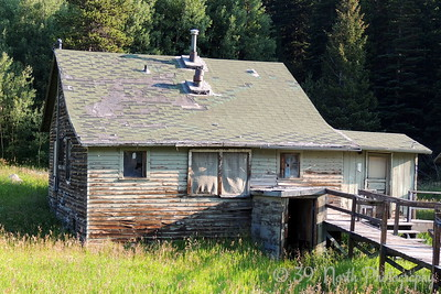 Old house near the Moffat Tunnel