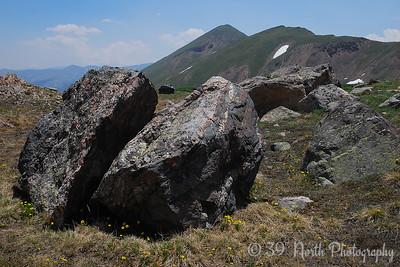 Mount Bethel (center - 12,705 ft.)