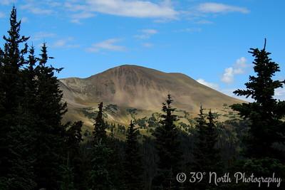 Specimen Mountain, Never Summer Range