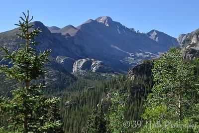 Longs Peak, Glacier Gorge