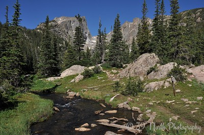 Tyndall Creek below Dream Lake