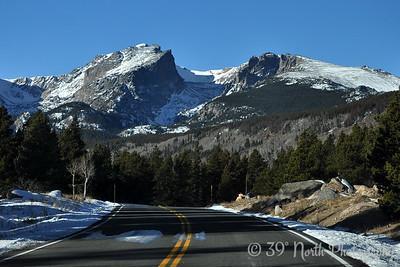 Hallett Peak from the Bear Lake Road
