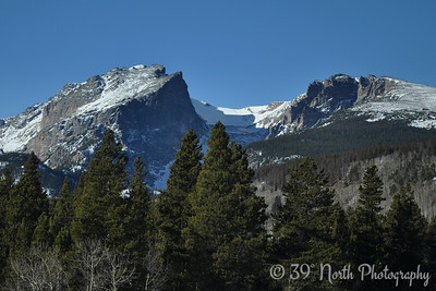Hallett Peak from the Bear Lake Road