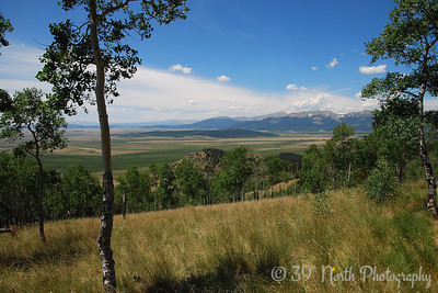 Kenosha Pass West-South Park view - July 20, 2008