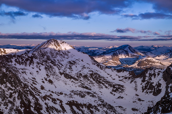 Mount Bierstadt Morning Light