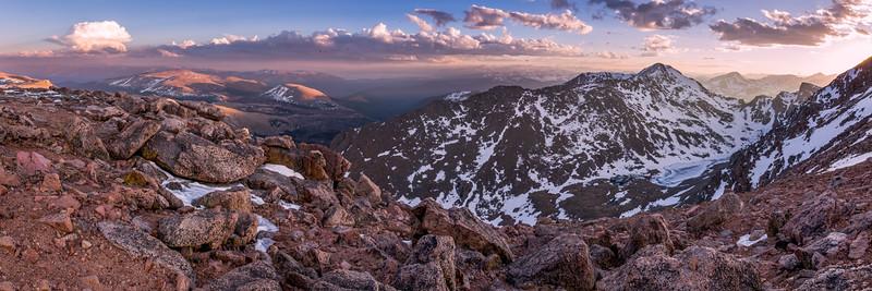 Mount Bierstadt Evening Panorama