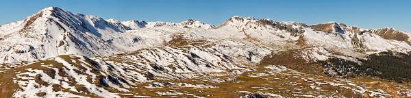San Juan Mountains from Engineer Pass, Colorado