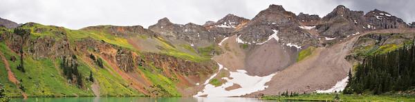 Sneffels Wilderness from Lower Blue Lake, San Juan Mountains, Colorado