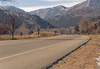 This is the mountain road [Lefthand Canyon] on which I do most of my bicycle riding