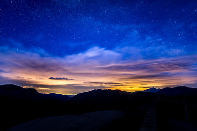 Night at Rocky Mountain National Park