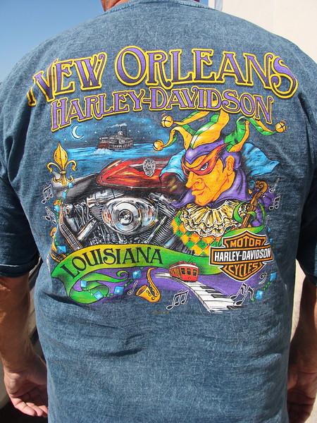 New Orleans, Louisiana Harley Davidson T-shirt