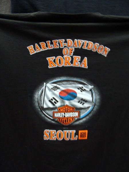Seoul, Korea Harley Davidson T-shirt