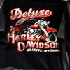Gillette, Wyoming Deluxe Harley Davidson T-shirt