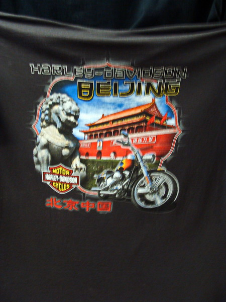 Beijing, China Harley Davidson T-shirt