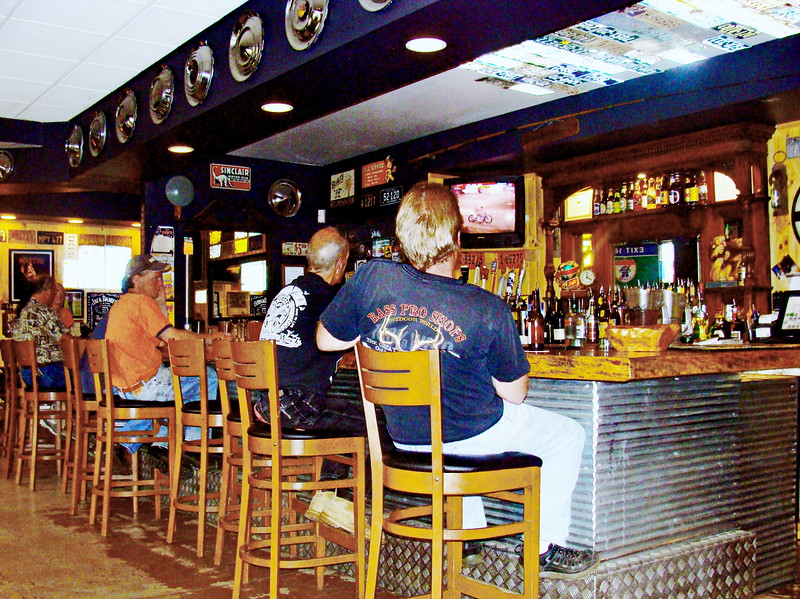 Midday Bar Scene