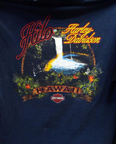 Hilo, Hawaii Harley Davidson T=shirt
