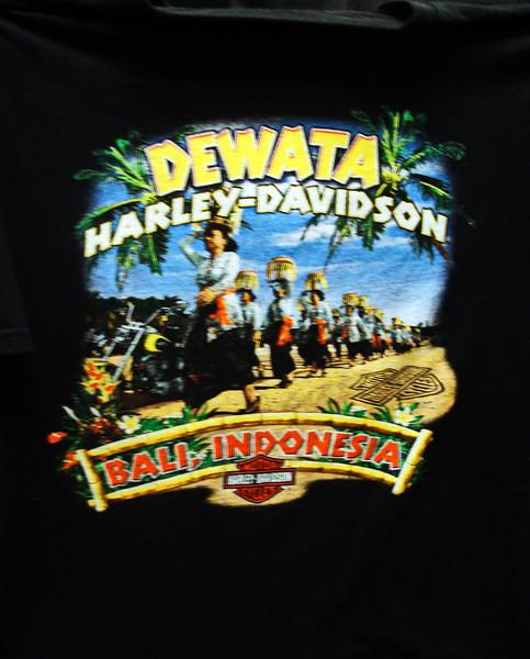 Bali, Indonesia Dewata Harley Davidson T=shirt