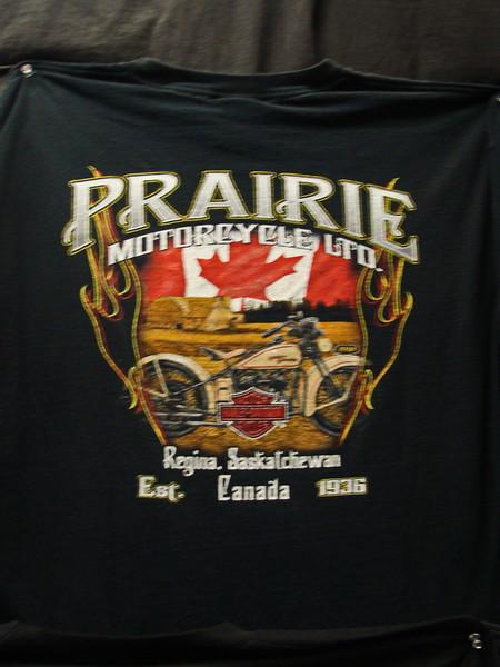 Regina, Saskatchewan, Canada Motorcycle T-shirt