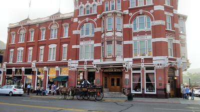 Durango, Colorado, scenes and DoubleTree Durango Hotel Scenes - Famous Strater Hotel