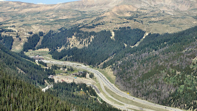 Colorado's I-70, Continental Divide on US 6, and Glenwood Canyon