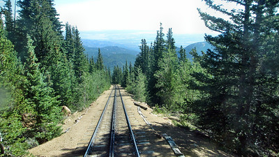 Pike's Peak Cog Railroad, Colorado Springs, CO