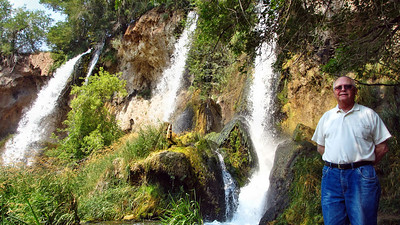 Rifle Falls State Park near Rifle, Colorado