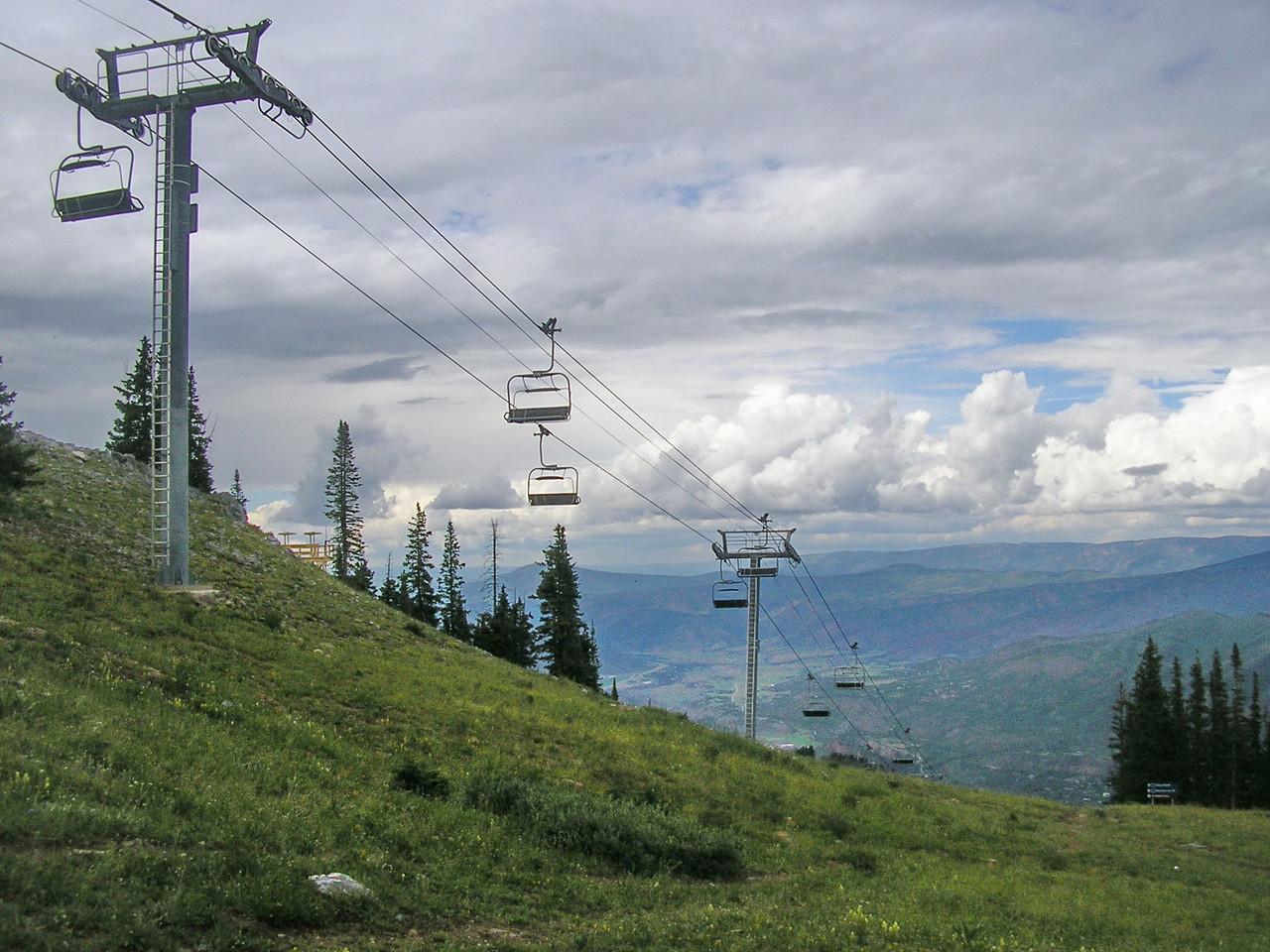 Aspen Chairlift