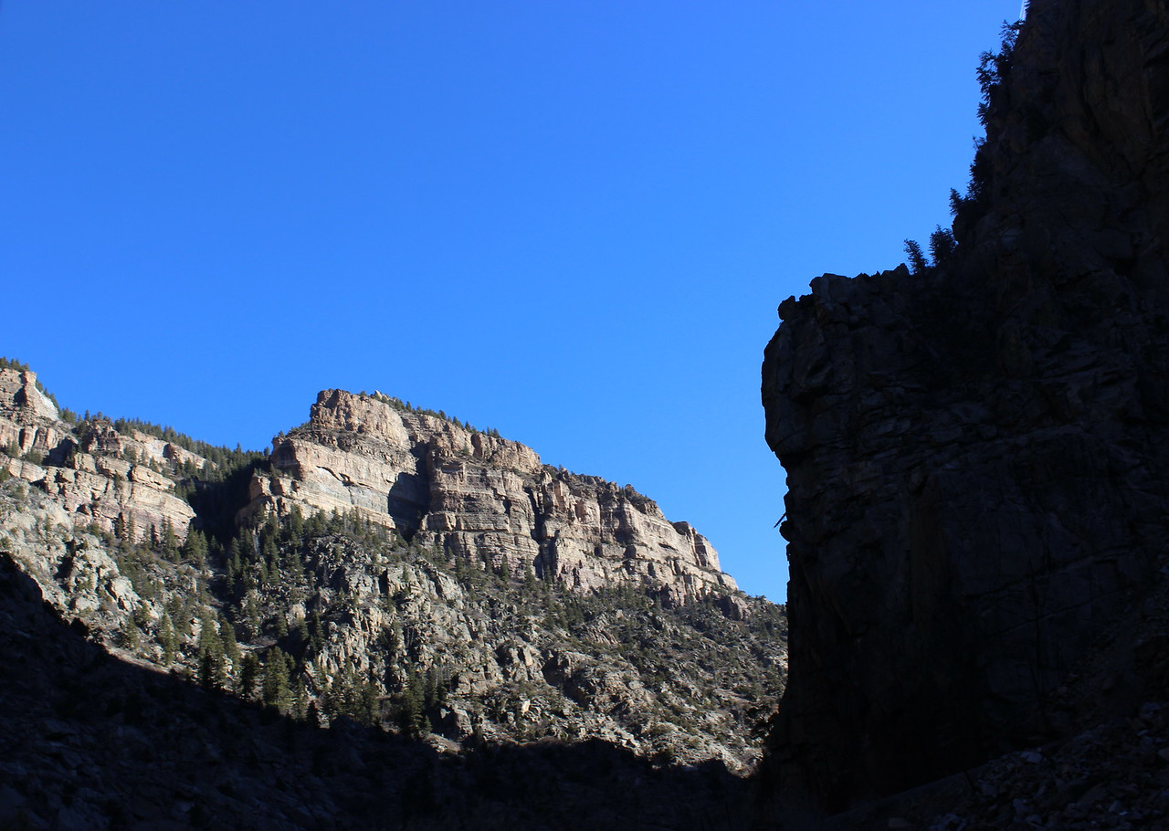 Light and Shadow Cliffs