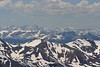 Mount Holy Cross, etc. from Mount Evans - This picture was one of 22 slightly overlapping pics shot at 200mm (320mm equivalent).  Even with that many pics it didn't go much further than 180 degrees.  This gives a bit of scope of the many mountains you can see from the top.
