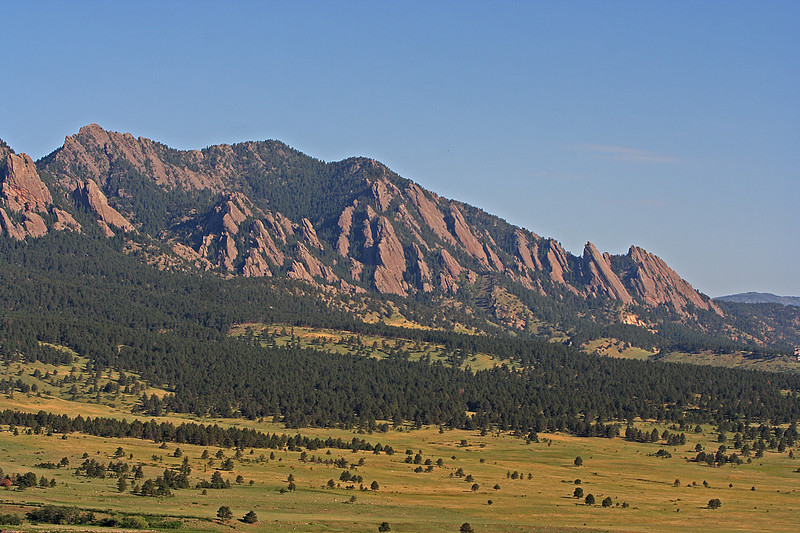 Flatirons from SE