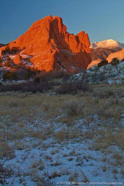Sunrise, Garden of the Gods, Colorado Springs, Colorado
