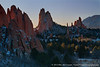 Sunrise, Garden of the Gods, Colorado Springs, Colorado