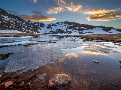 Summit Lake on Mount Evans