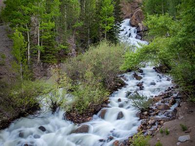 Waterfall along Guanella Pass