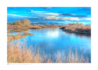 Rio Grande River, Alamosa National Wildlife Refuge, CO