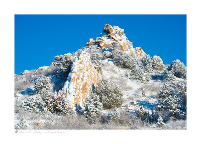 Winter Morning, Garden of the Gods, Colorado Springs, CO