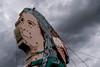 usa; colorado; colorado springs; architecture; restaurants; signs; neon; indian;  navajo  indian; johnny's navajo hogan