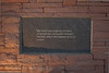 Plaque on Wall of Healing, Columbine Memorial