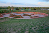 Columbine Memorial, looking northeast from Rebel Hill