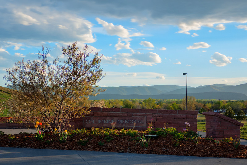 Columbine Memorial entrance