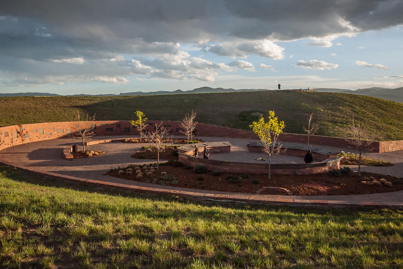 Columbine Memorial, looking southwest