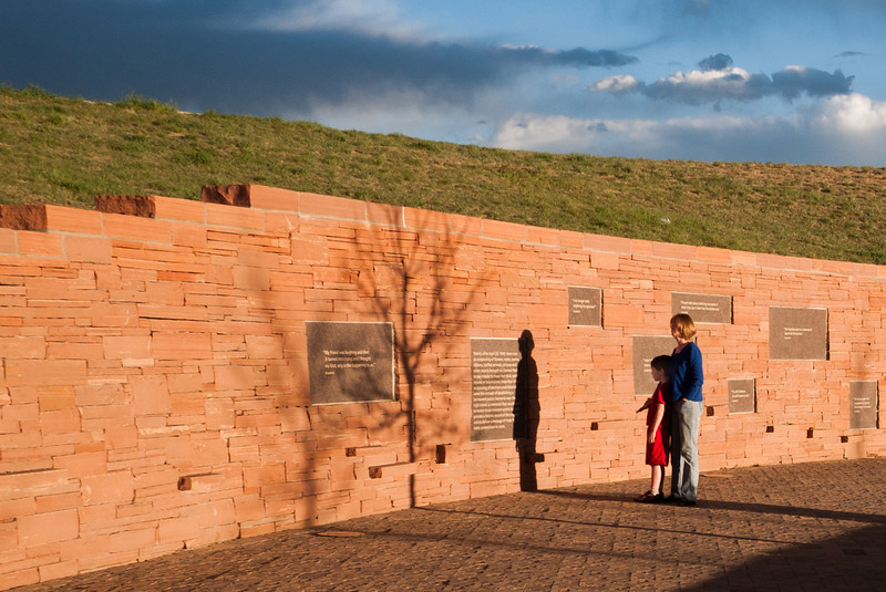 Wall of Healing. Columbine Memorial