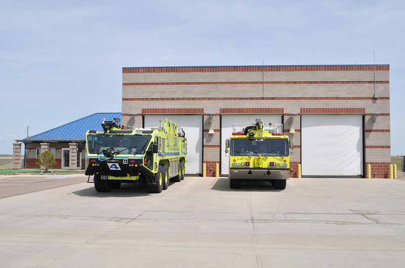 ARFF Station 4 Northwest Field<br /> Home to:<br /> Red 4<br /> Reserve Red ex Red 5