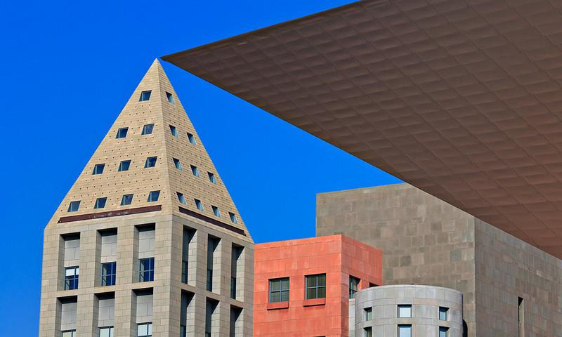 Euclidian Space Denver Public Library & Museum of Modern Art