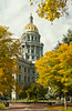 Colorado State Capital building in Denver, Colorado, USA, America.