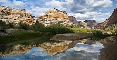 Yampa River Reflection at the Green River confluence