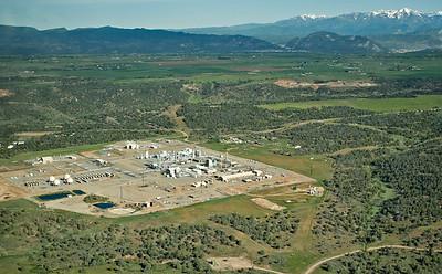 Aerial view of Williams Gas Processing Plant, Florida Mesa