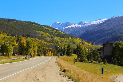 Fall Colors in Colorado, September 2013