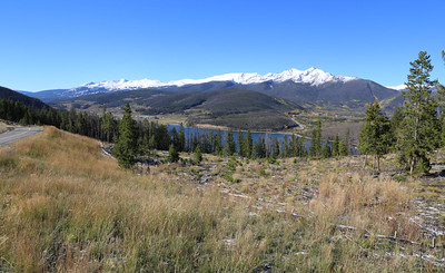 Dillon Reservoir, looking towards Frisco, from Sapphire Point