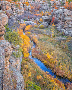 Cherry Creek, Bridge Canyon Overlook